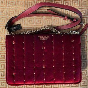 Victoria Secret Burgundy Crossbody Bag